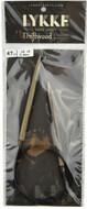 "Driftwood 47"" Circular Knitting Needle (Size US 10 - 6 mm) by LYKKE"