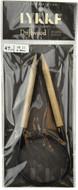 "Driftwood 47"" Circular Knitting Needle (Size US 11 - 8 mm) by LYKKE"