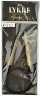 "Driftwood 47"" Circular Knitting Needle (Size US 13 - 9 mm) by LYKKE"