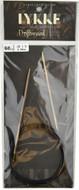 "Driftwood 60"" Circular Knitting Needle (Size US 1.5 - 2.5 mm) by LYKKE"
