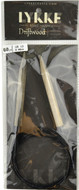 "Driftwood 60"" Circular Knitting Needle (Size US 13 - 9 mm) by LYKKE"