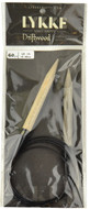 "LYKKE Driftwood 60"" Circular Knitting Needle (Size US 15 - 10 mm)"