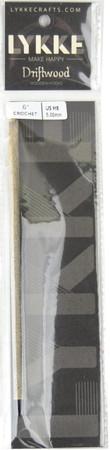 "LYKKE Driftwood 6"" Crochet Hook (Size US H-8 - 5 mm)"