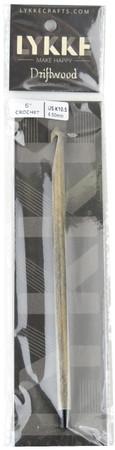 "LYKKE Driftwood 6"" Crochet Hook (Size US K-10.5 - 6.5 mm)"