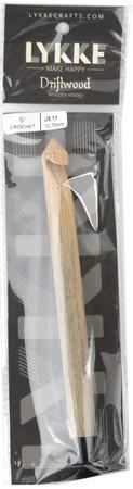 """LYKKE Driftwood 6"""" Crochet Hook (Size US 17 - 12.75 mm)"""