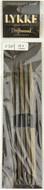 "LYKKE Driftwood 2-Pack 6"" Double Pointed Knitting Needle (Size US 9 - 5.5 mm)"
