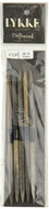 "LYKKE Driftwood 2-Pack 6"" Double Pointed Knitting Needle (Size US 10 - 6 mm)"