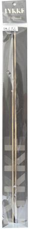 "LYKKE Driftwood 2-Pack 14"" Straight Single Pointed Knitting Needle (Size US 4 - 3.5 mm)"