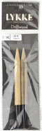 "LYKKE Driftwood 2-Pack 5"" Interchangeable Circular Knitting Needles (Size US 13 - 9 mm)"