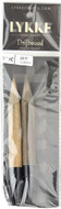 "LYKKE Driftwood 2-Pack 5"" Interchangeable Circular Knitting Needles (Size US 17 - 12 mm)"