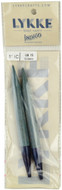 "LYKKE Indigo 2-Pack 5"" Interchangeable Circular Knitting Needles (Size US 15 - 10 mm)"