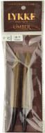"LYKKE Umber 2-Pack 5"" Interchangeable Circular Knitting Needles (Size US 17 - 12 mm)"
