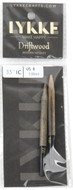 "LYKKE Driftwood 2-Pack 3.5"" Interchangeable Circular Knitting Needles (Size US 8 - 5 mm)"