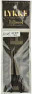 "LYKKE Driftwood 2-Pack 3.5"" Interchangeable Circular Knitting Needles (Size US 10.75 - 7 mm)"