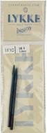"LYKKE Indigo 2-Pack 3.5"" Interchangeable Circular Knitting Needles (Size US 3 - 3.25 mm)"