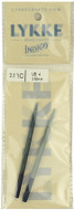"LYKKE Indigo 2-Pack 3.5"" Interchangeable Circular Knitting Needles (Size US 4 - 3.5 mm)"