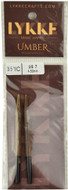 "LYKKE Umber 2-Pack 3.5"" Interchangeable Circular Knitting Needles (Size US 7 - 4.5 mm)"
