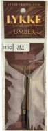"LYKKE Umber 2-Pack 3.5"" Interchangeable Circular Knitting Needles (Size US 8 - 5 mm)"