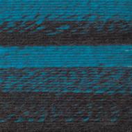 Lion Brand Charcoal/Aqua Scarfie Yarn (5 - Bulky)