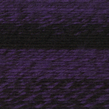 Lion Brand Black/Purple Scarfie Yarn (5 - Bulky)