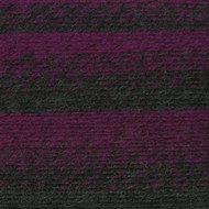 Lion Brand Charcoal/Magenta Scarfie Yarn (5 - Bulky)
