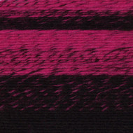 Lion Brand Black/Hot Pink Scarfie Yarn (5 - Bulky)