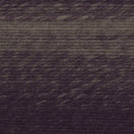 Lion Brand Eggplant/Taupe Scarfie Yarn (5 - Bulky)