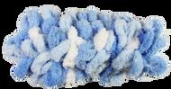 Bernat White & Blue Alize Blanket-EZ Yarn (7 - Jumbo)