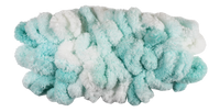 Bernat White & Mint Alize Blanket-EZ Yarn (7 - Jumbo)