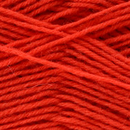 Opal Orange Solid Sock Yarn (1 - Super Fine)