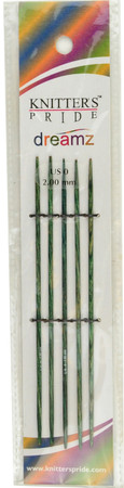 "Knitter's Pride Symfonie Dreamz 5-Pack 5"" Double Pointed Knitting Needles (Size US 0 - 2 mm)"