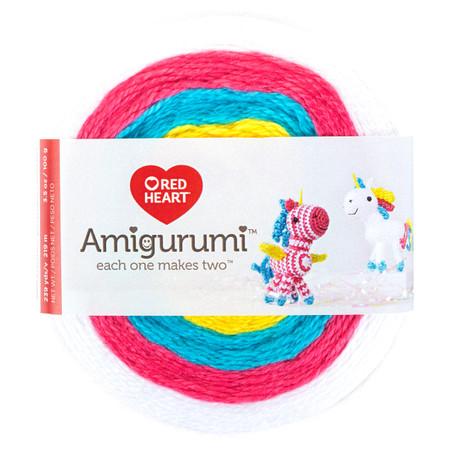 Red Heart Unicorn Amigurumi Yarn (1 - Super Fine)