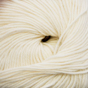 Cascade Winter White 220 Superwash Yarn (4 - Medium)