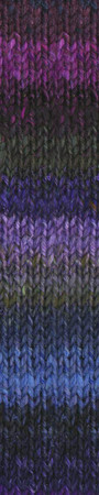Noro #395 Purple, Grey, Blue Silk Garden Yarn (4 - Medium)