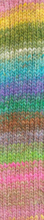 Noro #463 Pink, Blue, Green Silk Garden Yarn (4 - Medium)