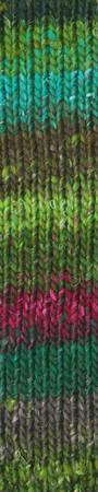 Noro #399 Green, Pink, Grey Silk Garden Sock Yarn (1 - Super Fine)