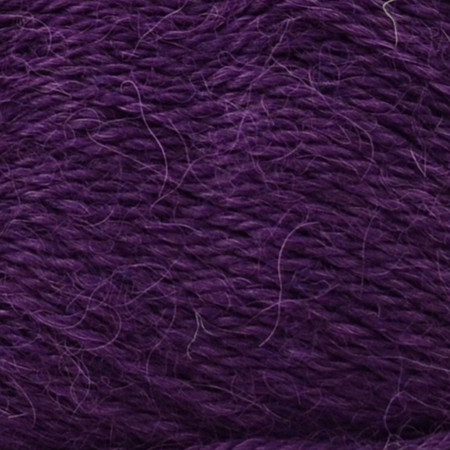 Drops Dark Purple Alpaca Yarn (2 - Fine)