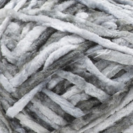 Bernat Soft Gray Crushed Velvet Yarn (5 - Bulky)