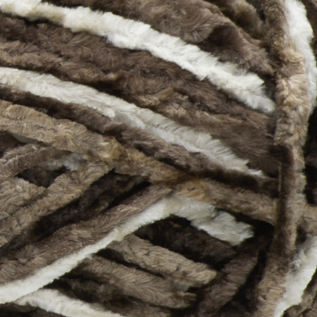 Bernat Taupe Crushed Velvet Yarn (5 - Bulky)