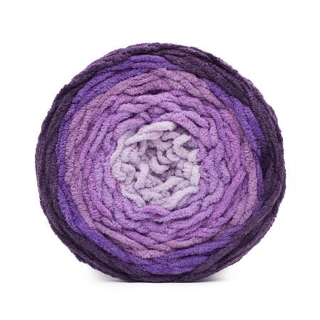Bernat Eggplant Ombre Blanket Ombre Yarn (6 - Super Bulky)
