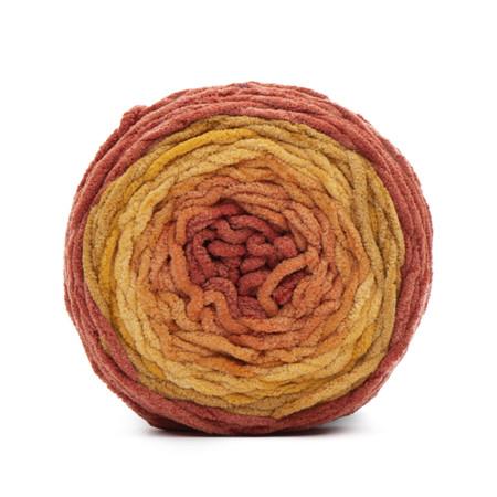 Bernat Orange Crush Ombre Blanket Ombre Yarn (6 - Super Bulky)