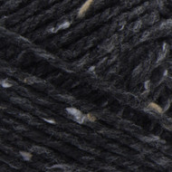Bernat Black Softee Chunky Tweeds Yarn - Small Ball (6 - Super Bulky)