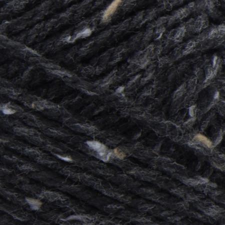 Bernat Black Softee Chunky Tweeds Yarn - Small Ball (6 - Super Bulky)