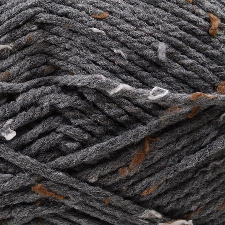 Bernat True Gray Softee Chunky Tweeds Yarn - Big Ball (6 - Super Bulky)