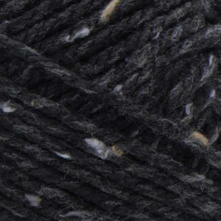 Bernat Black Softee Chunky Tweeds Yarn - Big Ball (6 - Super Bulky)