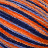 Cascade Orange & Blue Fixation Sprayed Yarn (3 - Light)