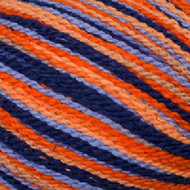 Cascade Orange & Blue Fixation Sprayed Yarn (3 - Light)