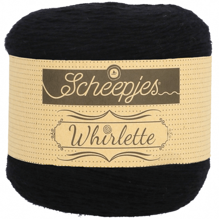 Scheepjes Liquorice Whirlette Yarn (1 - Super Fine)