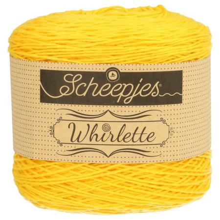 Scheepjes Banana Whirlette Yarn (1 - Super Fine)