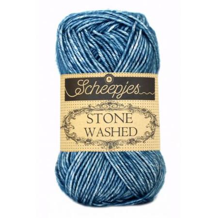 Scheepjes Blue Apatite Stone Washed Yarn (2 - Fine)